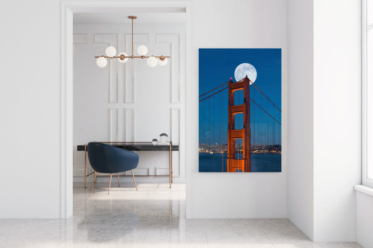 "Fine Art Prints - ""Golden Gate Bliss"" 