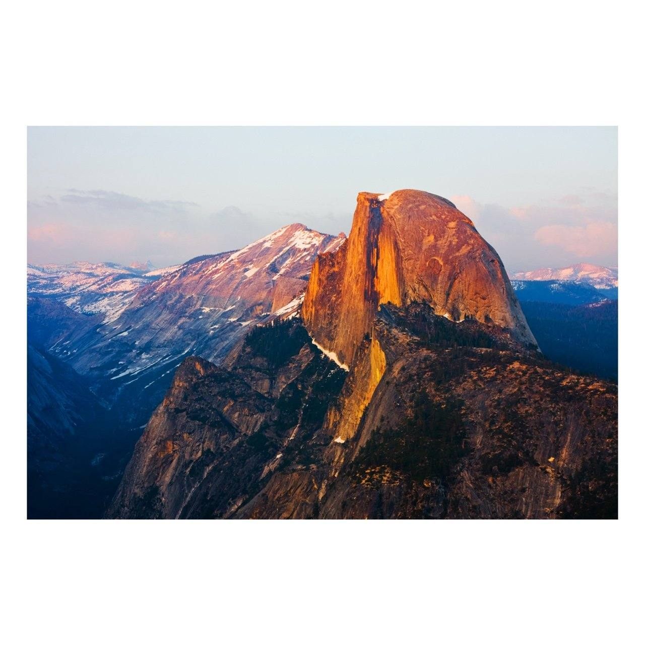 "Fine Art Prints - ""Half Dome's Glow"" 