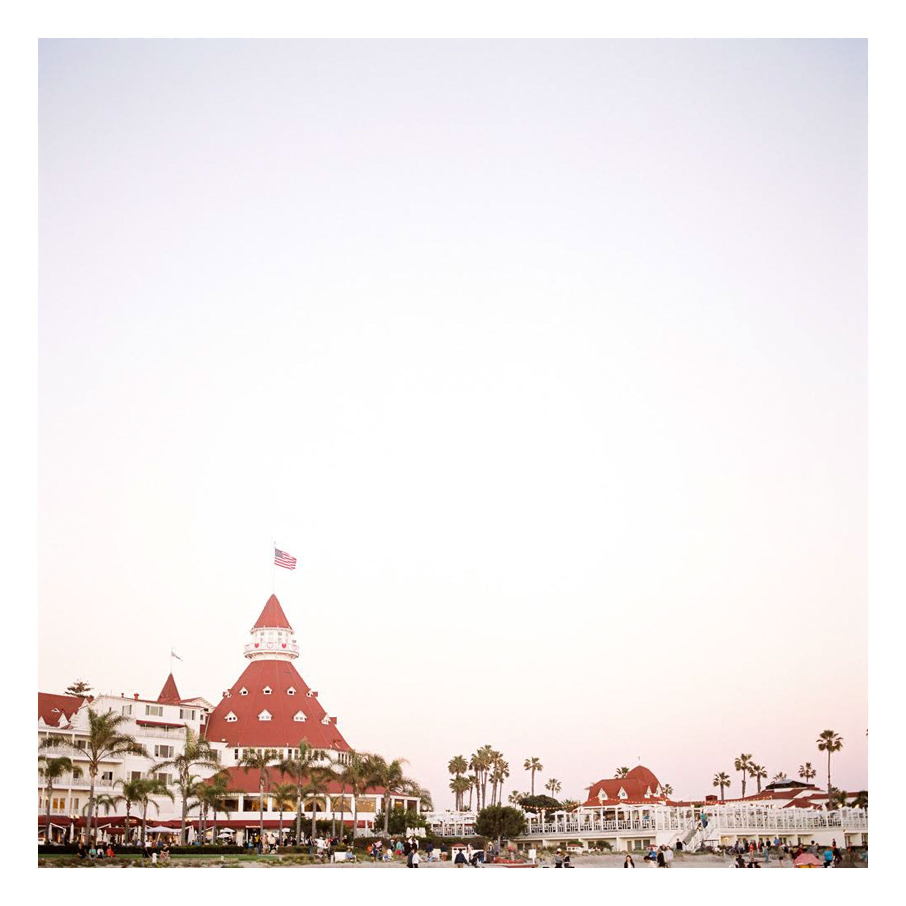 "Fine Art Prints - ""Hotel Del Coronado"" 