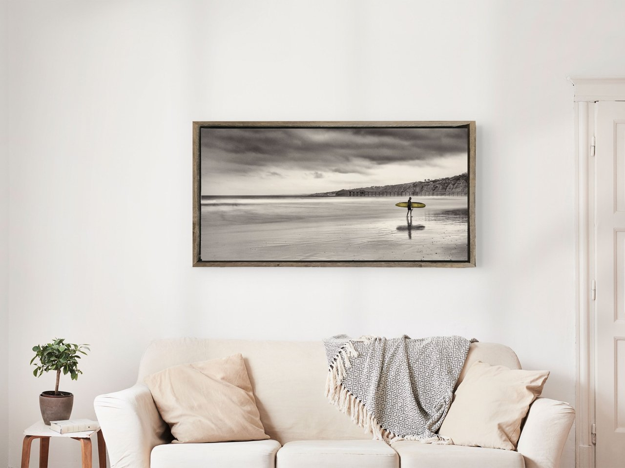 Fine Art Prints - La Jolla Shores Surfer