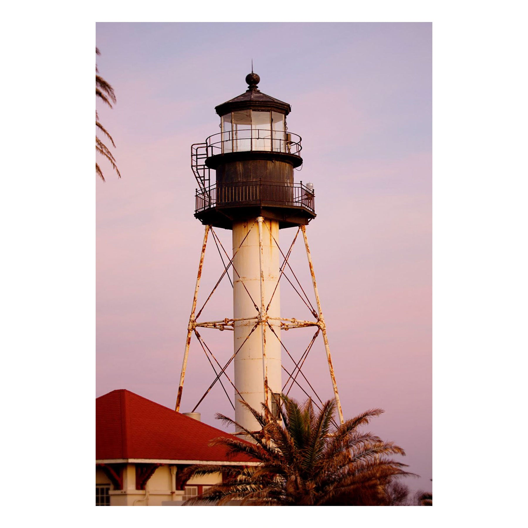 "Fine Art Prints - ""Lighthouse At Sunset"" 