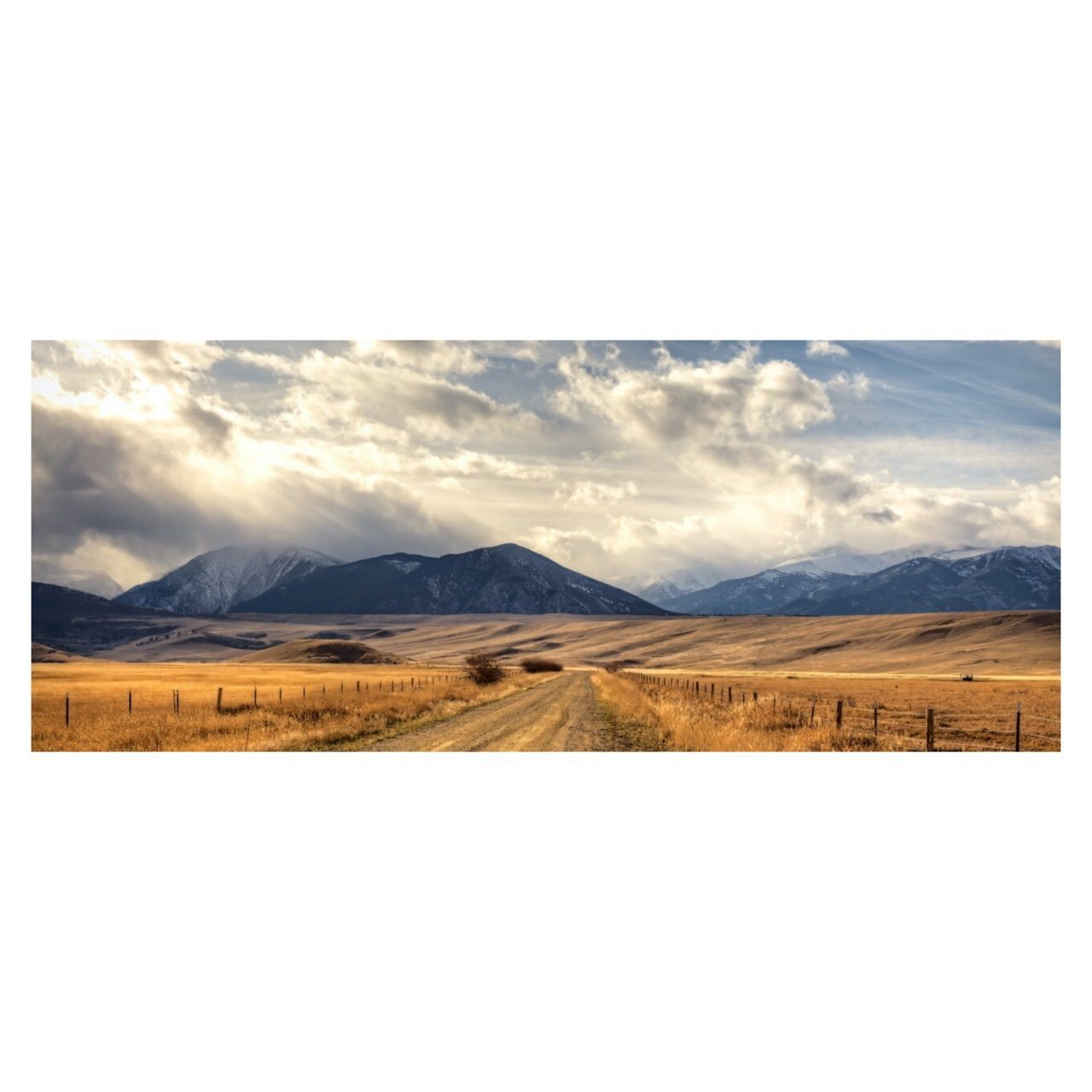"Fine Art Prints - ""Montana Road"" 