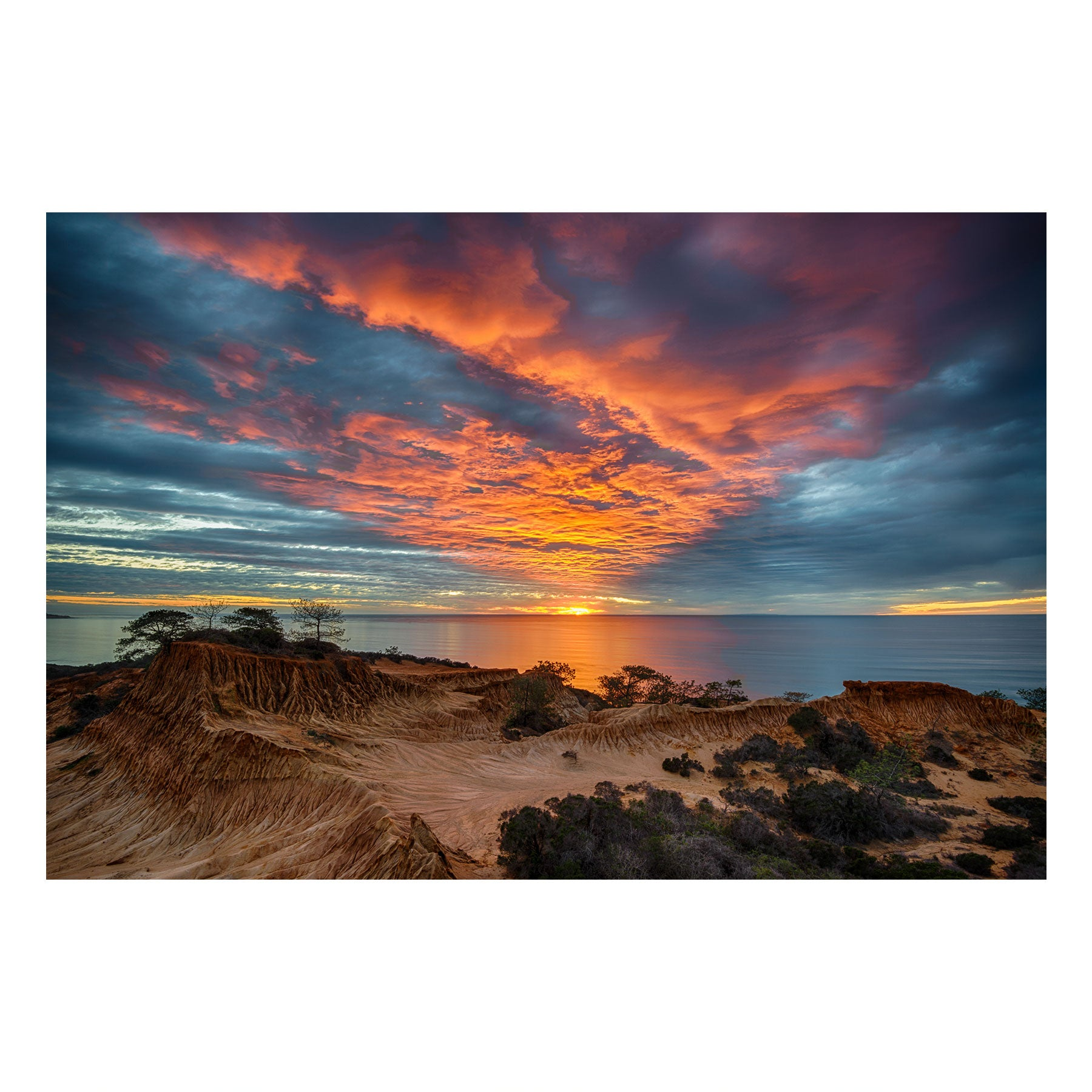 "Fine Art Prints - ""Pacific Eruption"" 