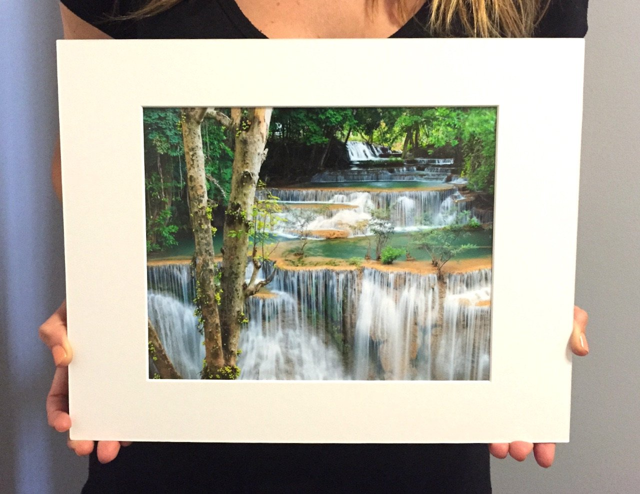 "Fine Art Prints - ""Rainforest Falls"" 