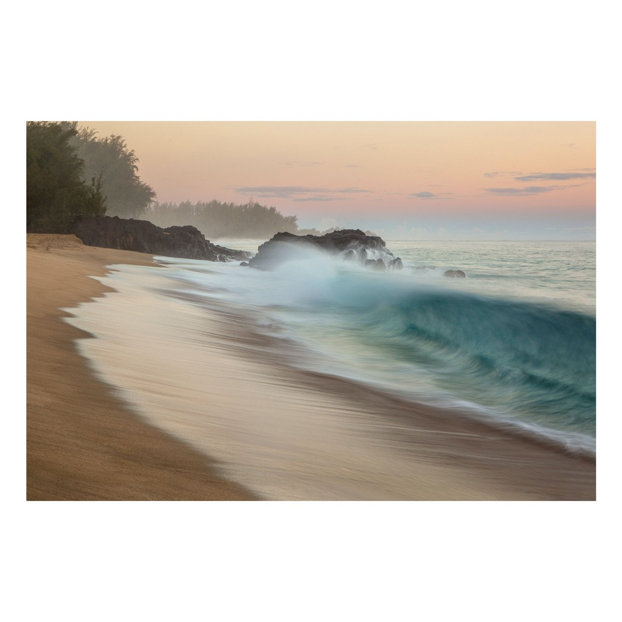 "Fine Art Prints - ""Shore Break At Sunrise"" 