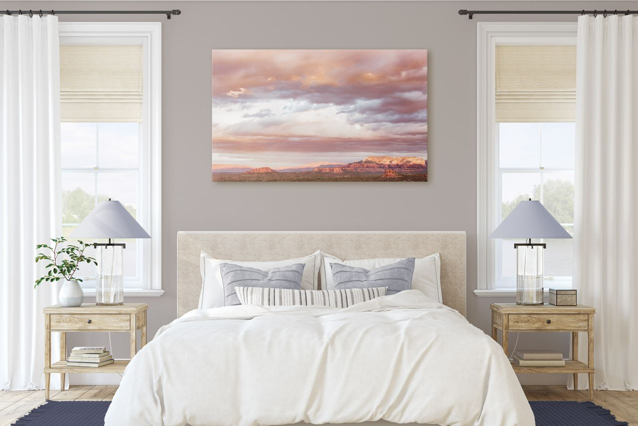 "Fine Art Prints - ""Sky In Sedona At Sunrise"" 