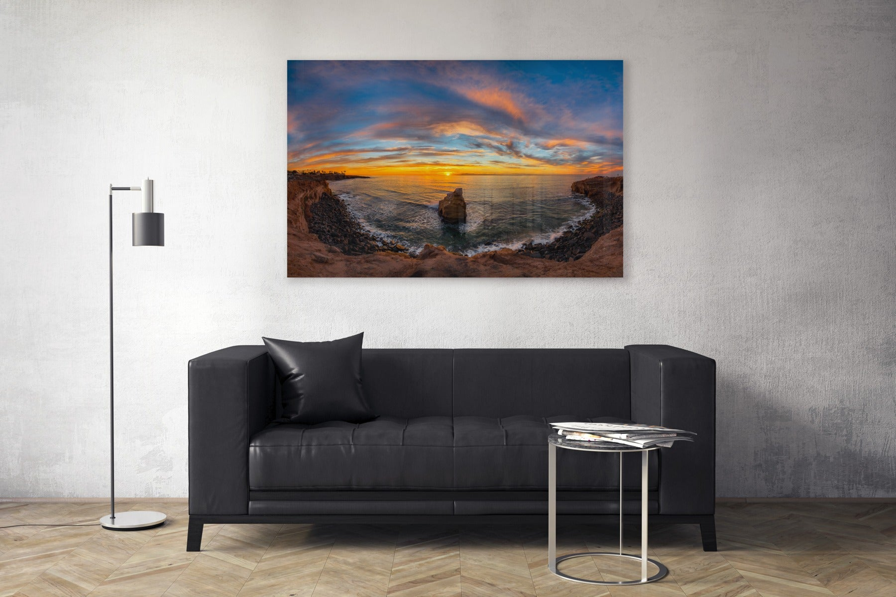 "Fine Art Prints - ""Sunset Cliffs Pano"" 