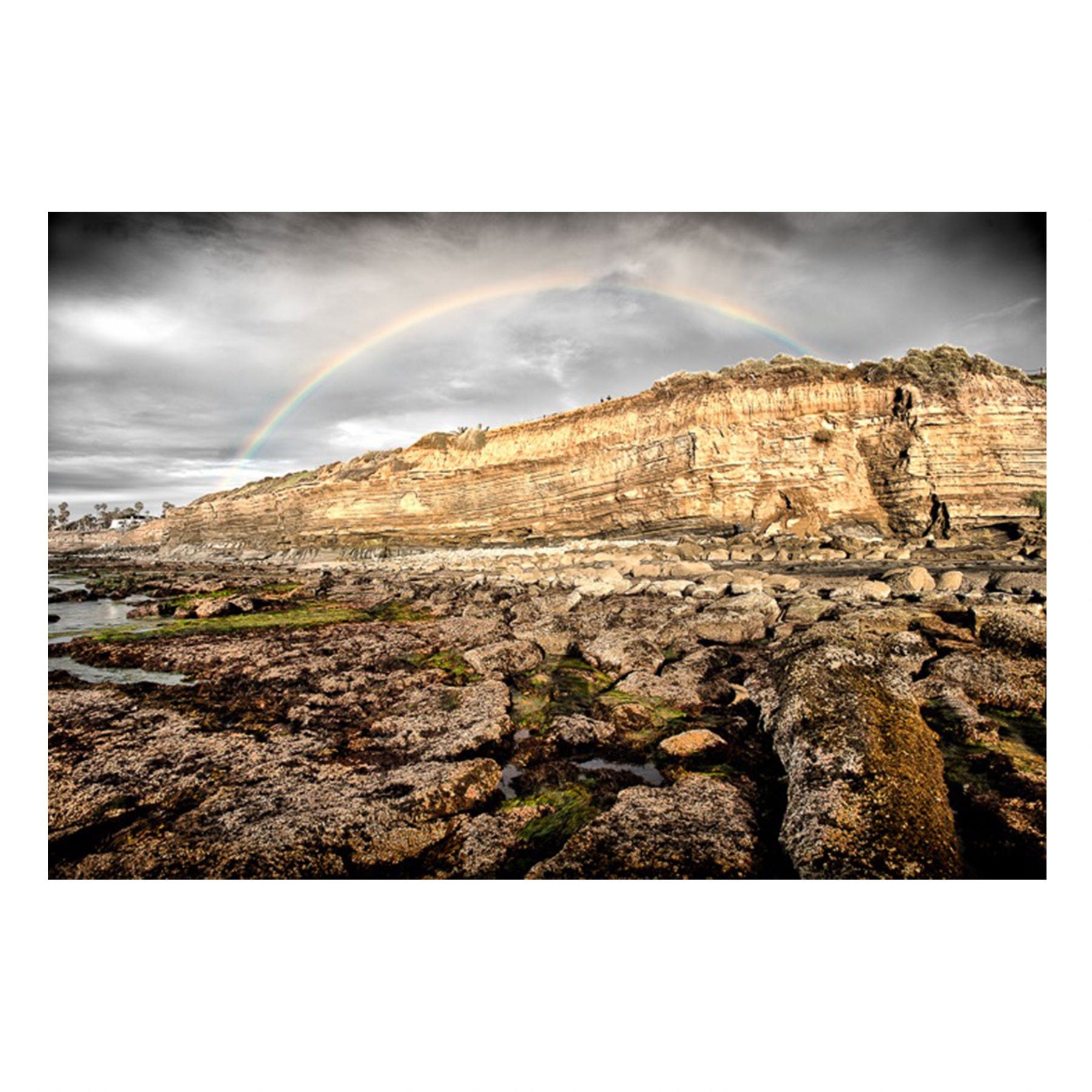 Fine Art Prints - Sunset Cliffs Rainbow