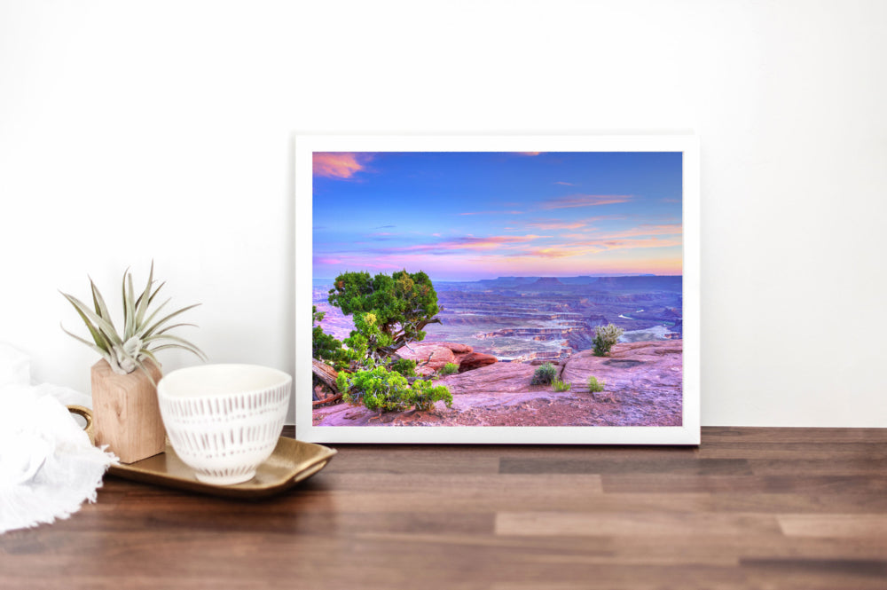 "Fine Art Prints - ""Sunset Desert Hues"" 