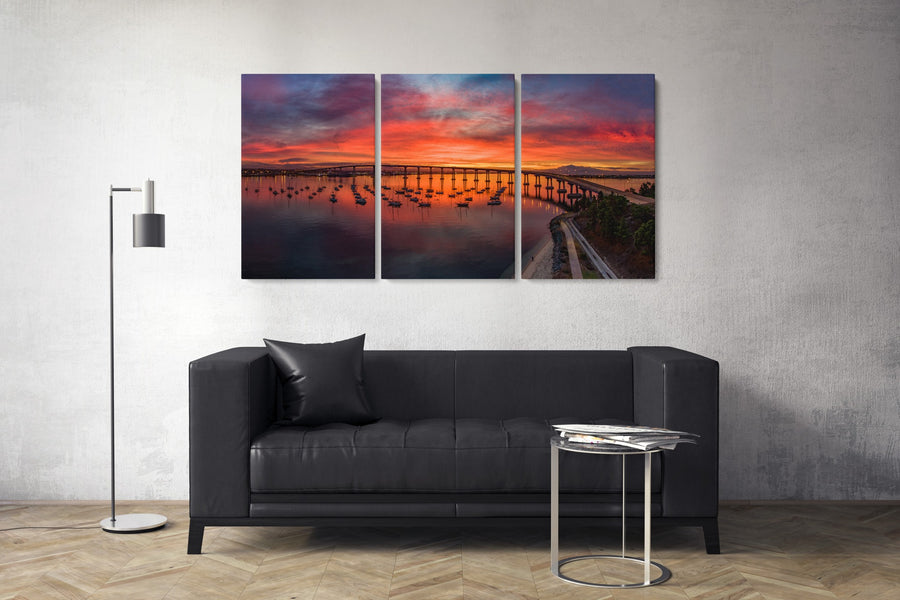 "Fine Art Prints - ""The Lone Photographer Triptych"" 