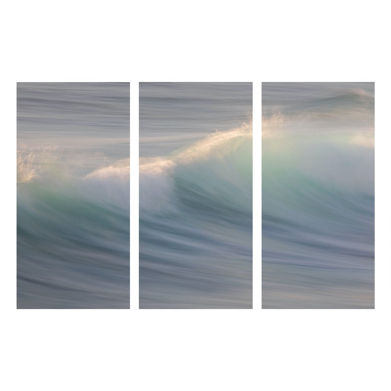 "Fine Art Prints - ""Translucent Curl Triptych"" 