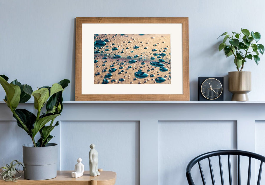 "Matted Prints - ""Feeling Blue"" 
