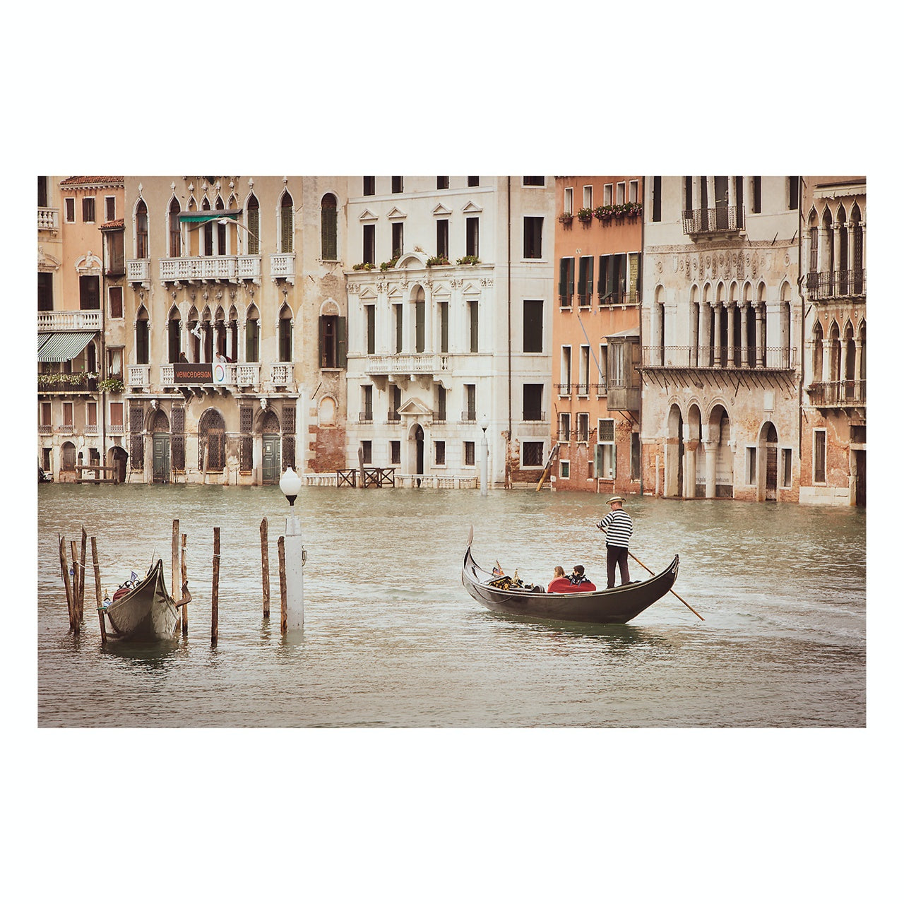 "Matted Prints - ""Gondola Ride In Venice"" 