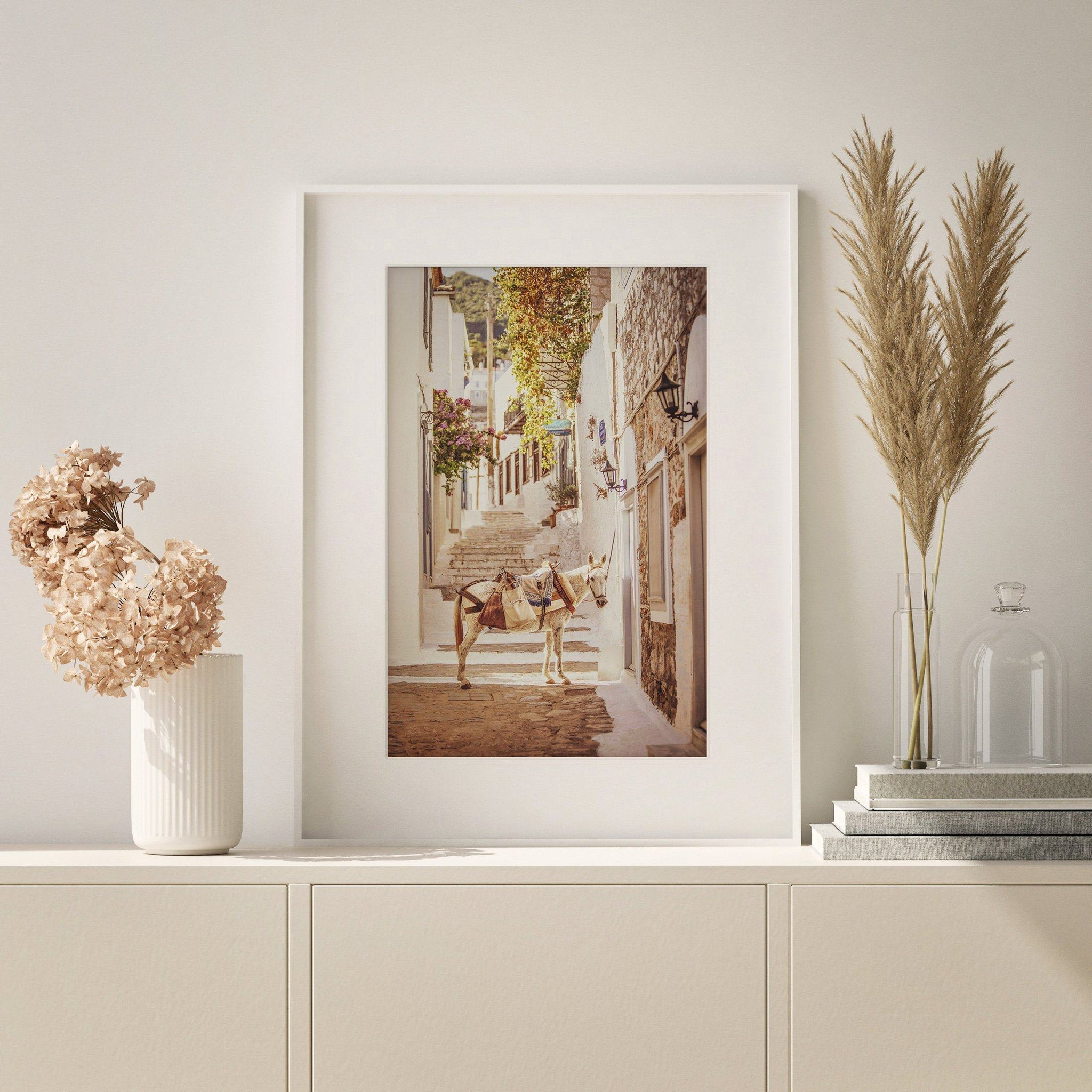 "Matted Prints - ""Hydra, Greece"" 