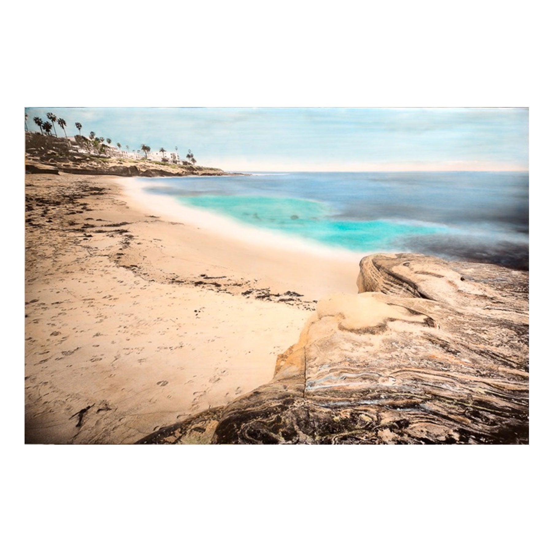 Matted Prints - La Jolla Beach