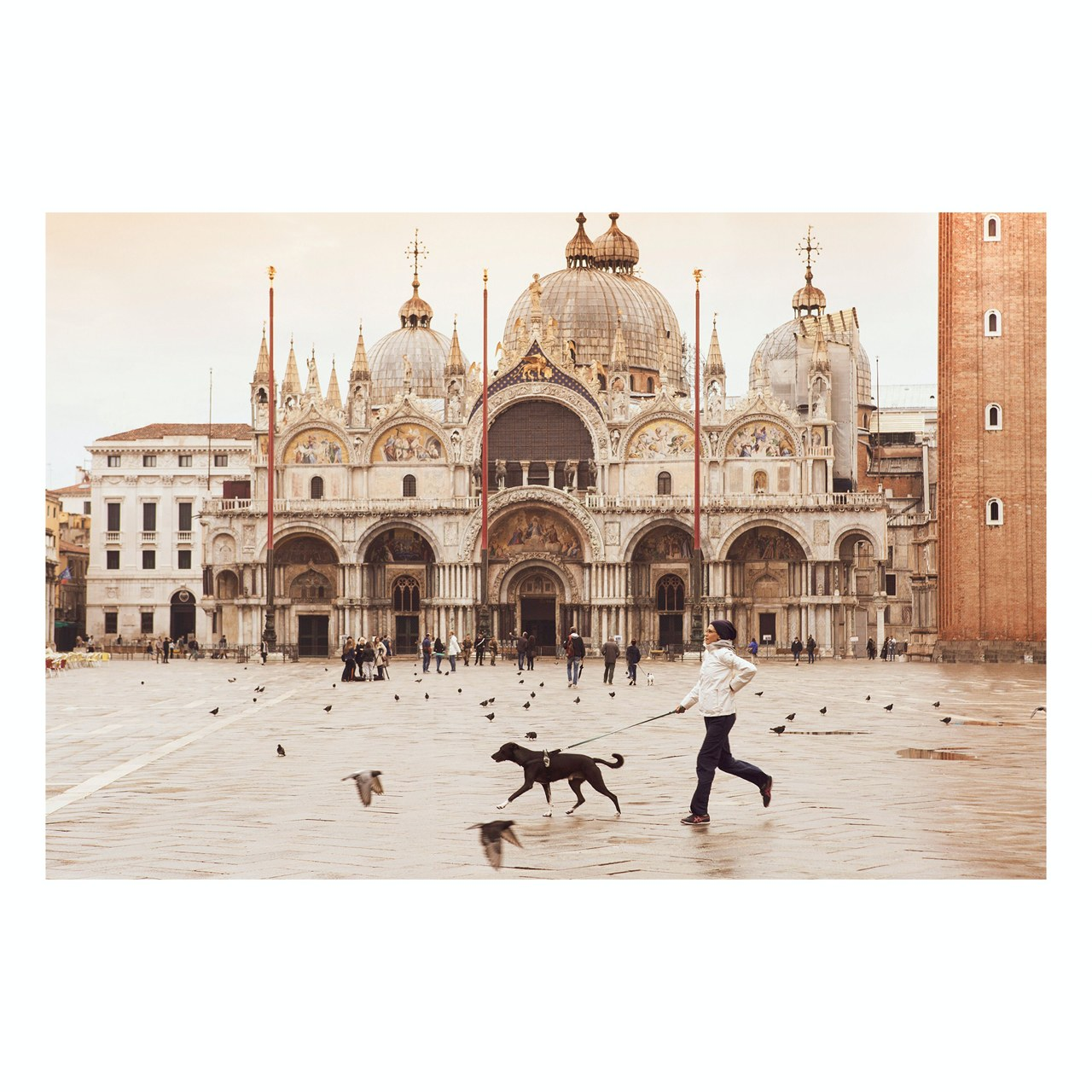 "Matted Prints - ""Piazza San Marco"" 