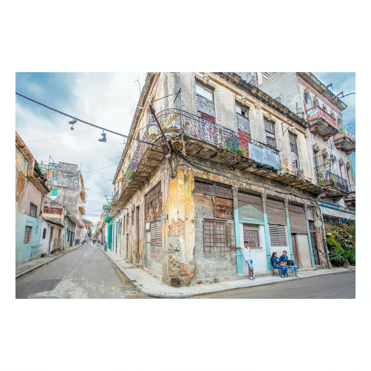 "Matted Prints - ""Streets Of Old Havana"" 