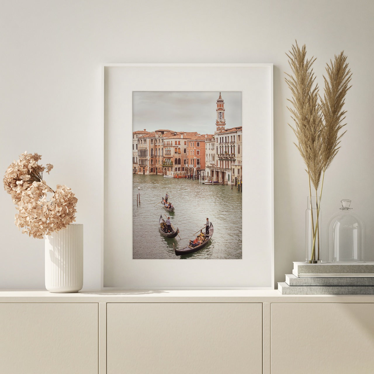 "Matted Prints - ""The Grand Canal"" 