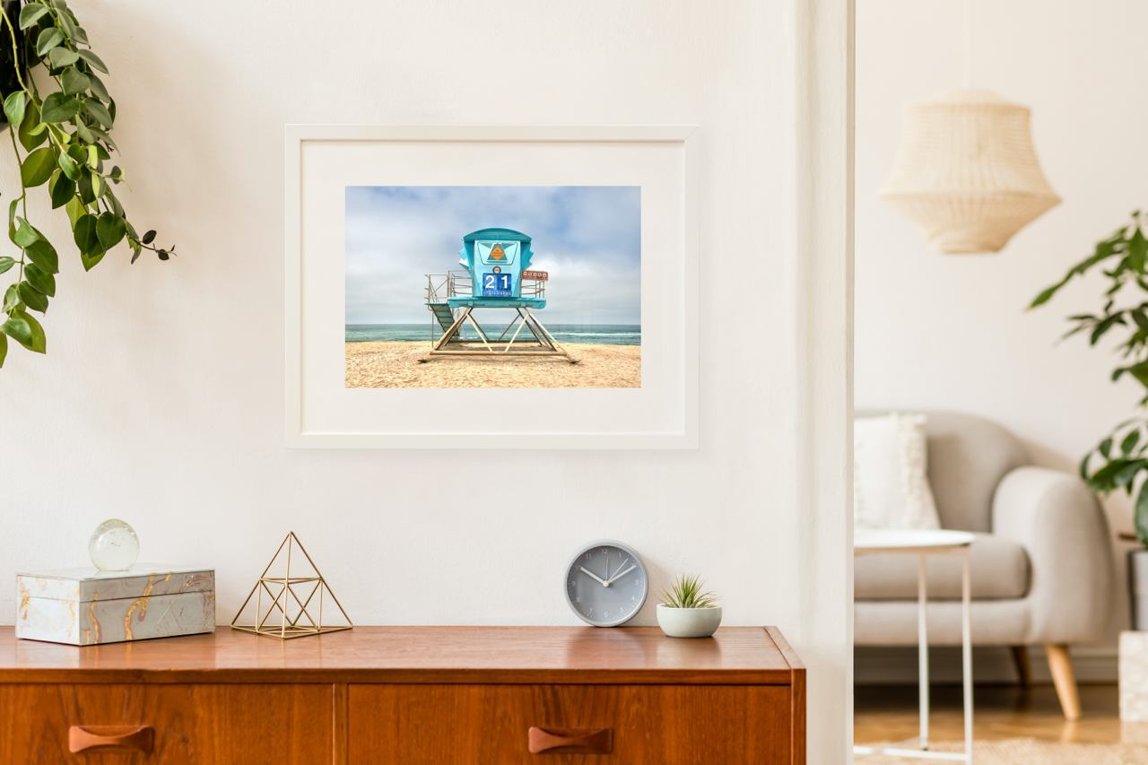 "Matted Prints - ""Tower 21 II"" 