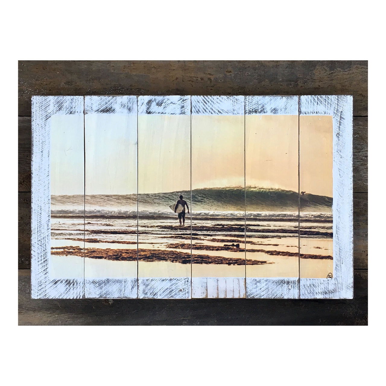 Wood Art Print - Afternoon Glow