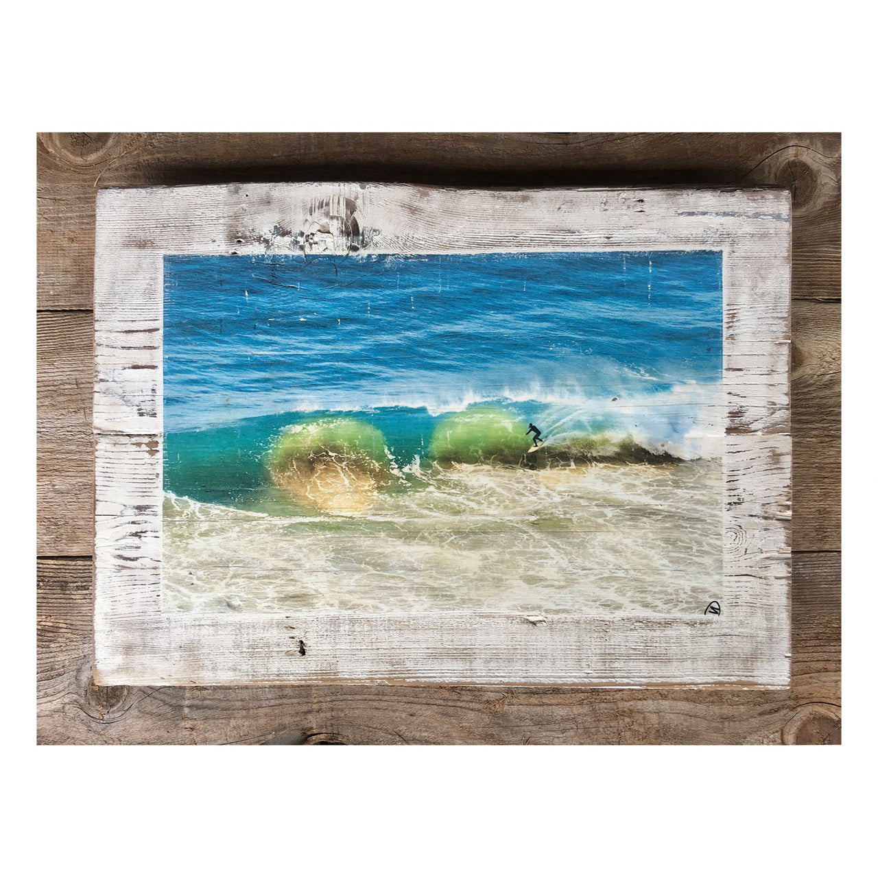 Wood Art Print - Sandpit