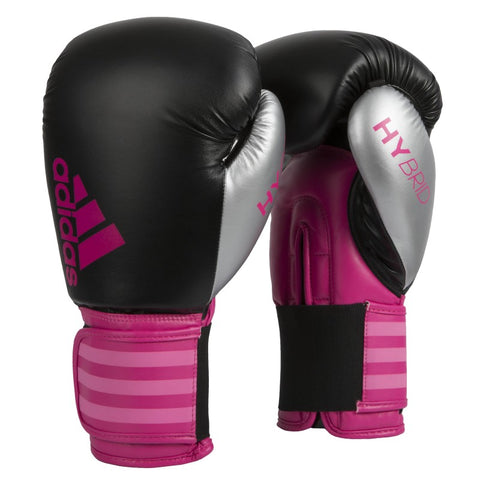 ADIDAS HYBRID 100 DYNAMIC FIT BOXING GLOVES