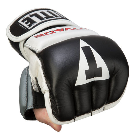 TITLE INVADE WRISTWRAP HEAVY BAG GLOVES