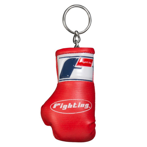 FIGHTING SPORTS BOXING GLOVE KEYRING