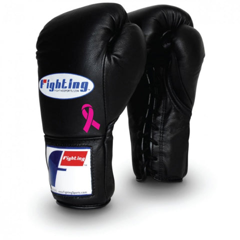 CUSTOM FIGHTING SPORTS PRO TRAINING LACE GLOVES