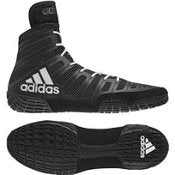 wholesale dealer 699ce 67b07 adidas adiZero Varner Mens Wrestling Shoes, Black White Black Size 7.5