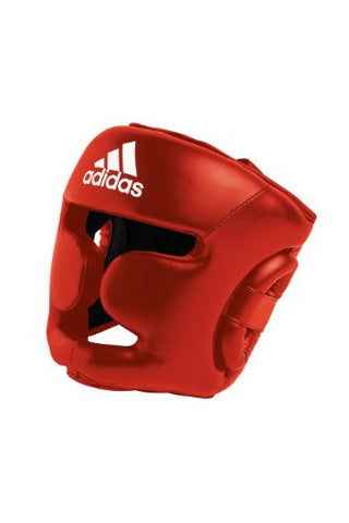 adidas Response Boxing Head Guard Red (Medium)