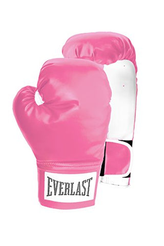 Everlast Woman's Wrist Wrap Level 1 Boxing Training Sparring Gloves 12 OZ. Pink