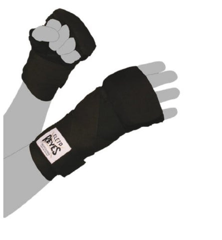 Cleto Reyes Evolution Boxing Handwraps - Medium - Black