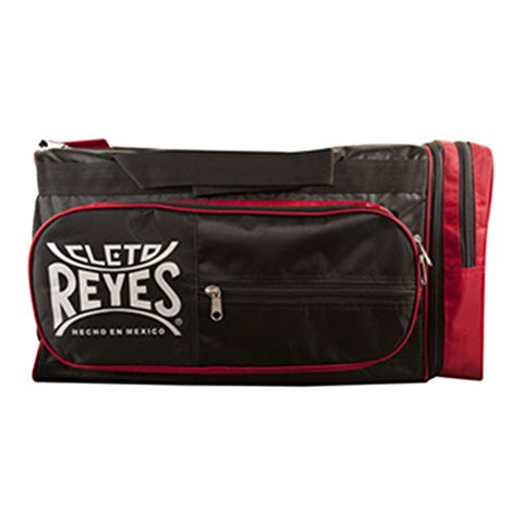 Cleto Reyes Nylon Gym Bag - New - Black/Red