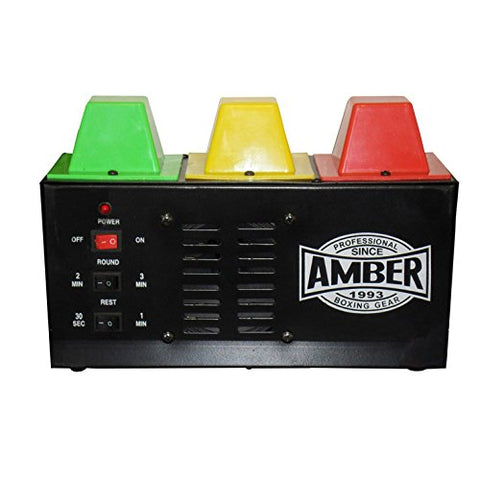 Amber Fight Gear Deluxe Timer, Normal Size