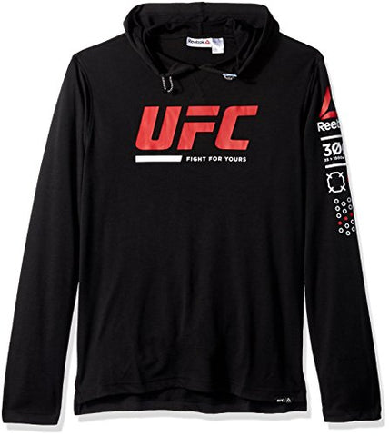 UFC Men's Oth Pullover Hoodie, Large, Black