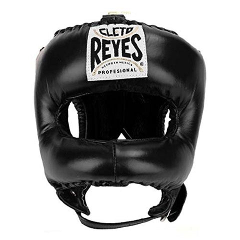 Cleto Reyes Traditional Headgear with Nylon Face Bar Black