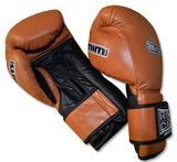 20oz, 22oz, 24oz Deluxe MiM-Foam Sparring Gloves - Safety Strap , Top Rated Boxing Training Gloves, for Boxing, MMA, Muay Thai, Kickboxing (20oz, Tan/Black)
