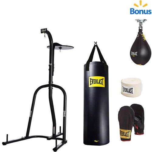 39f4c385cce Everlast Dual Station Heavy Bag Stand