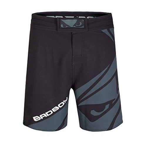 Bad Boy Men's Velocity Fight Shorts, Black, Small