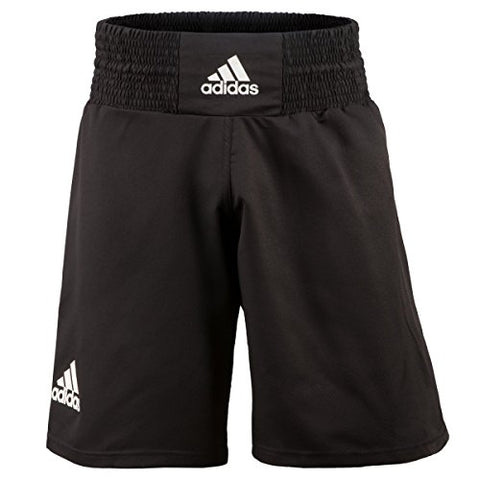 adidas Victory Boxing Trunks, Black/White, X-Large
