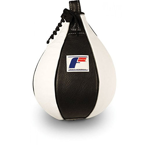 Fighting Sports Pro Speed Bag, Black/White, 6 x 9