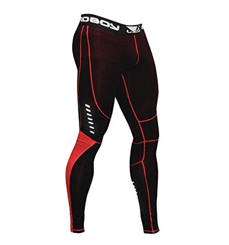 Bad Boy Sphere Tight Comp Black/ Red-Small