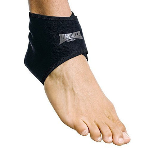 Lonsdale Unisex Neo Ankle Support Gym Fitness Workout Training Sport Elasticated by Lonsdale