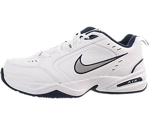 separation shoes 76ce0 563e7 Nike Men s NIKE AIR MONARCH IV (4E) RUNNING SHOES -11.5  White   Metal –  Sweet Science Boxing