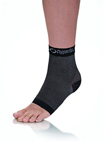 Copper Fit Unisex Advanced Support Ankle Sleeve, Large
