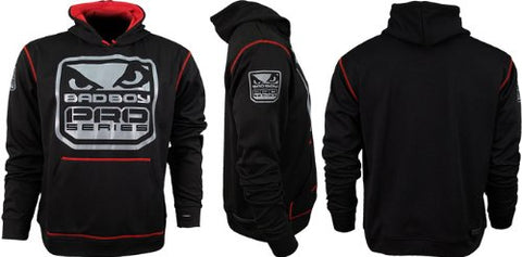 Bad Boy MMA KIDS Fight DNA Performance Hoodie (Black, Kids XL)