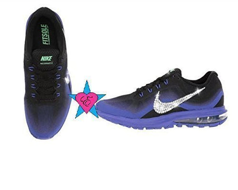 Crystal Bling Nike Air Max Dynasty 2 Women's Running Shoes Violet