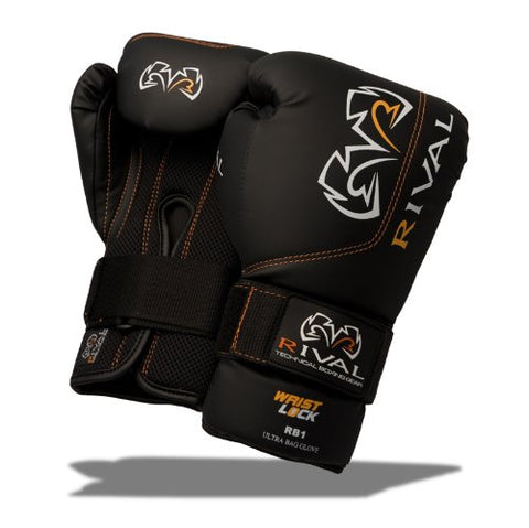 Rival Ultra Bag Gloves - 12 oz - Black
