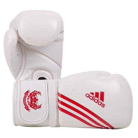 ADIDAS BOXING HYBRID FITNESS GLOVES RED